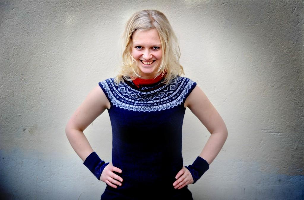 La scrittrice per ragazzi norvegese Maria Parr (www.litteraturfestival.no)