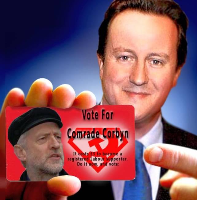 Cameron e Corbyn