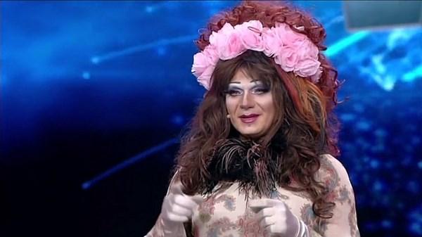 La drag quenn Chantal Lee Rose (fonte: wittytv.it)