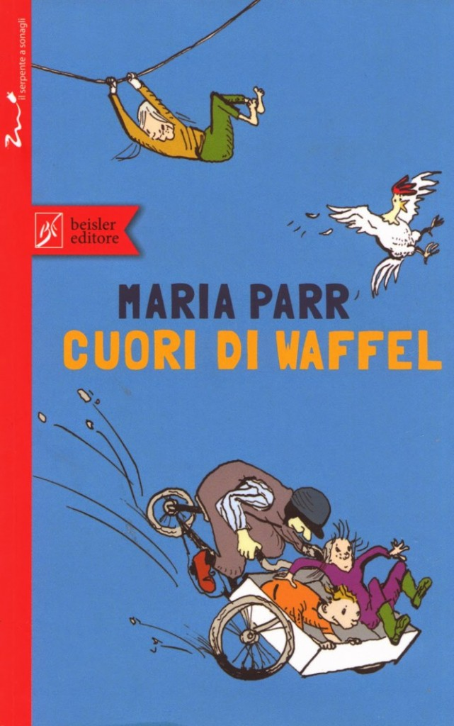 Cuori di waffel, di Maria Parr, è il libro vincitore del Premio Andersen 2015 come miglior libro per la fascia d'età 9/12 anni (www.quantestorie.it)