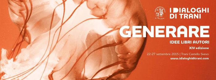 I Dialoghi di Trani si svolgeranno dal 22 al 27 settembre (www.indacoage.it)