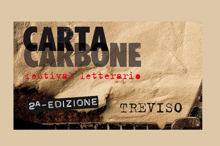 CartaCarbone 2015 festival letterario si svolgerà a Treviso dal 15 al 18 ottobre 2015 (www.lazione.it)
