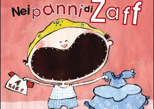 """La copertina dell'albo illustrato """"Nei panni di Zaff"""" (www.cataniapride.com)"""