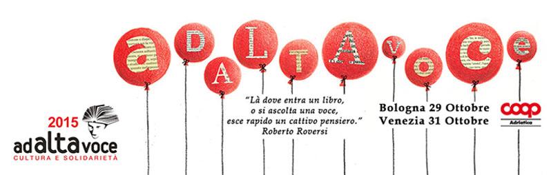 Ad Alta Voce si svolgerà dal 29 al 31 ottobre in diverse città italiane (www.e-coop.it)