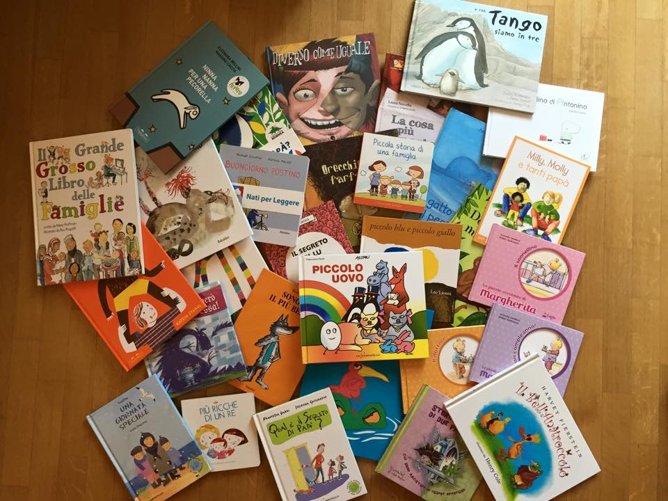Alcuni dei libri censurati dal sindaco di Venezia (www.bossy.it)