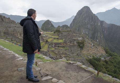 Renzi in visita in Perù (ansa.it)