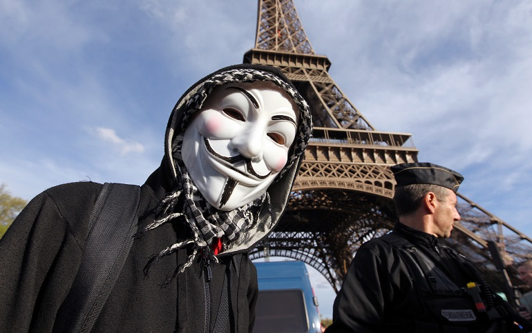 Anonymous lotta contro L'Isis (giornalettismo.com)