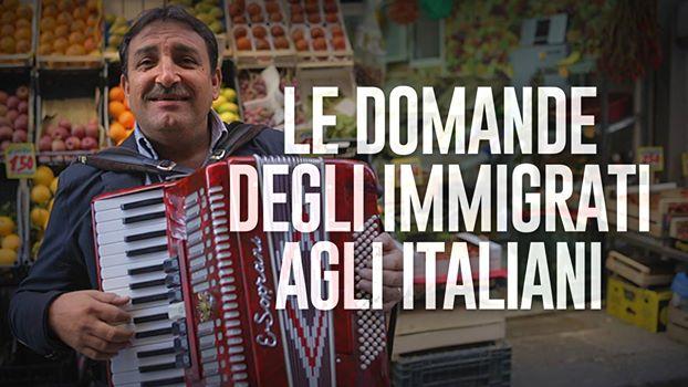 Il video delle domande degli immigrati agli italiani pubblicato dai The Jackal (www.newsly.it)
