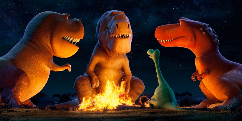 I T-Rex Butch, Ramsey e Nash in una scena del film
