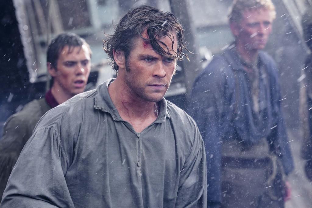 Chris Hemsworth è il primo ufficiale della Essex, Owen Chase