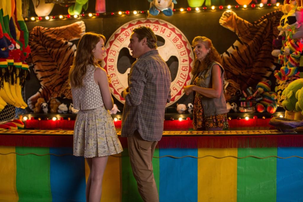 """Emma Stone e Joaquin Phoenix in una scena di """"Irrational Man"""""""