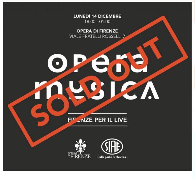 La locandina di Opera Musica (http://live.operamusica.it/)