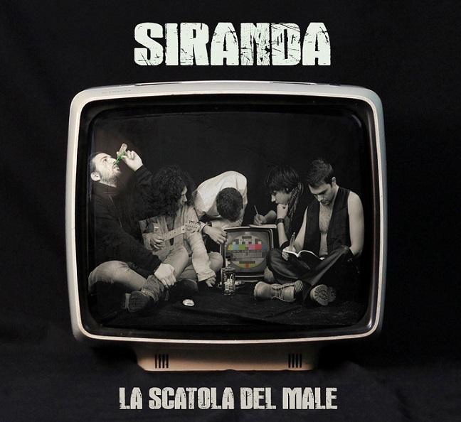 """La copertina de """"La scatola del male"""", il primo lp dei Siranda (siranda.bandcamp.com)"""