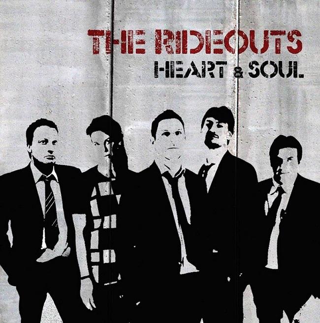 """La copertina di """"Heart and soul"""", il nuovo album dei Rideouts (facebook.com)"""