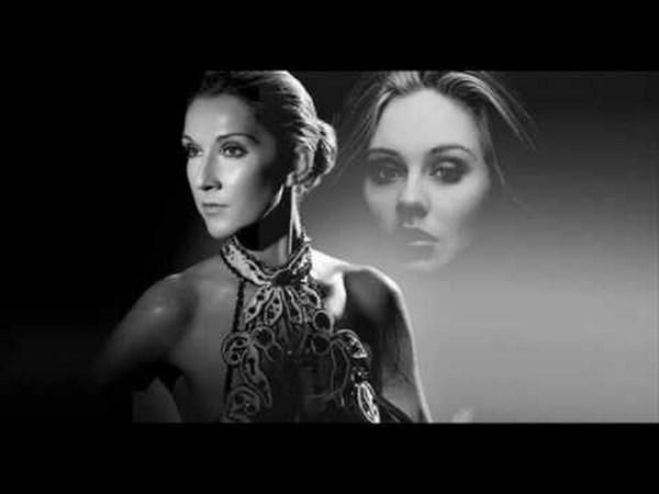 Celine Dion canta