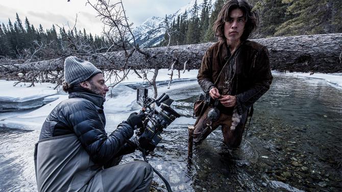 Emmanuel Lubezki sul set di 'Revenant - Redivivo'