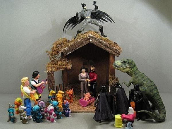 Presepe alternativo (Foto: bonsai.tv)