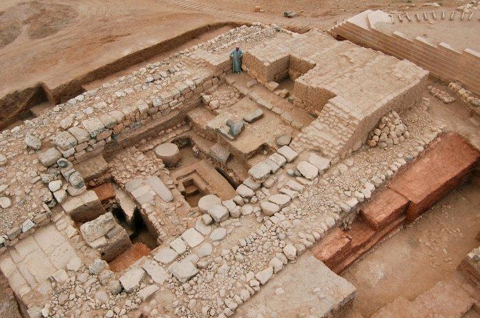 Uno scorcio dell'antichissima città di Ebla, in Siria, scoperta dall'archeologo Paolo Matthiae (Fonte foto: www.bla.it)