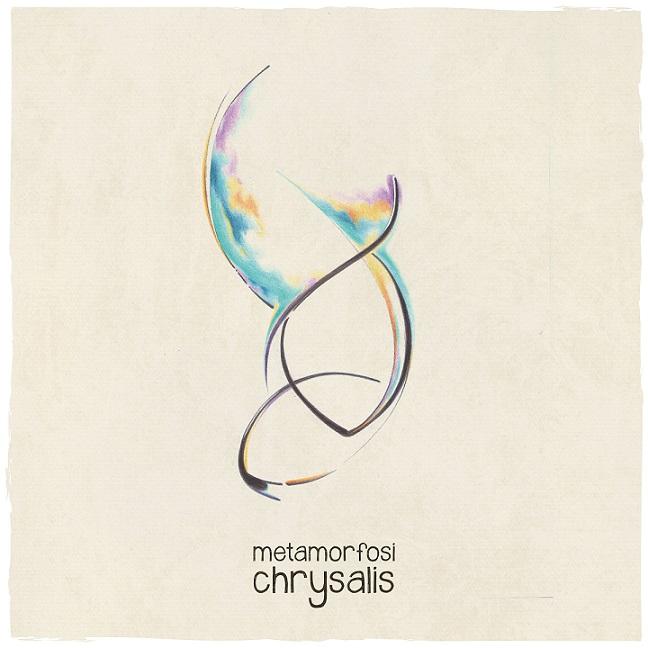 """La copertina di """"Chrysalis"""", il nuovo album dei Metamorfosi"""