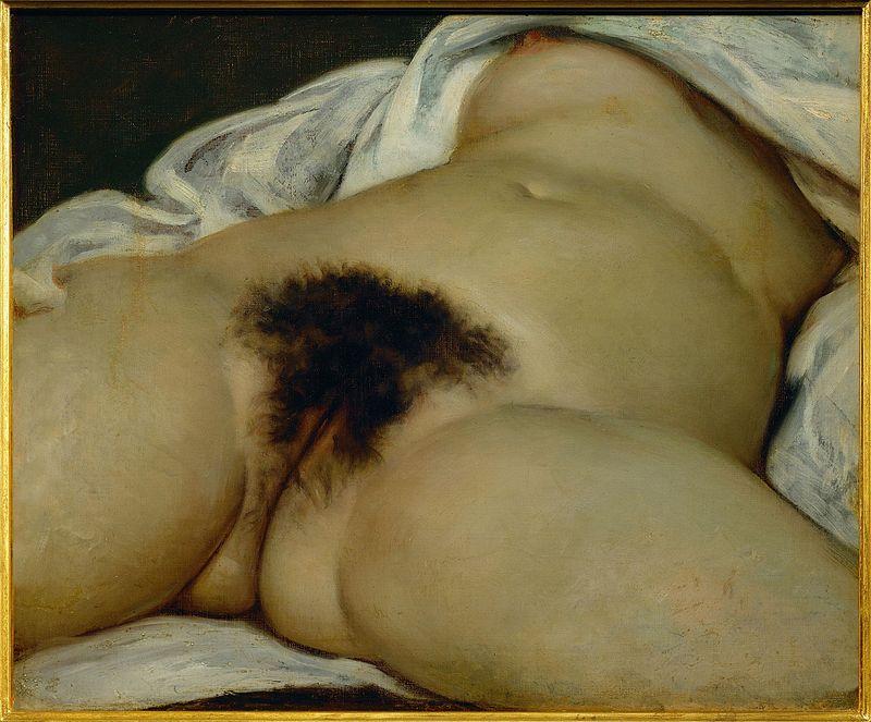 L'Origine du monde, Gustave Courbet, 1866, Museo d'Orsay