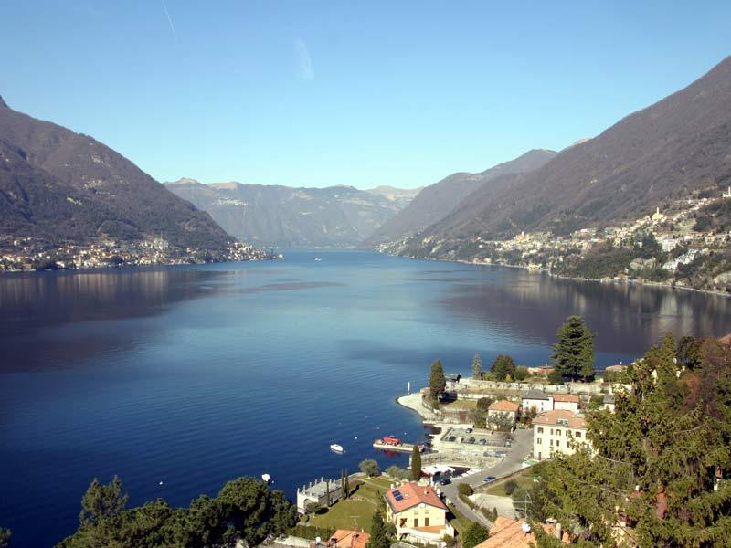 Veduta del lago di Como (Fonte foto: www.italia.it)