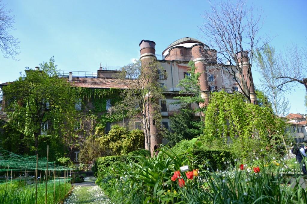 L'orto botanico di Brera (Fonte foto: www.zero.eu)