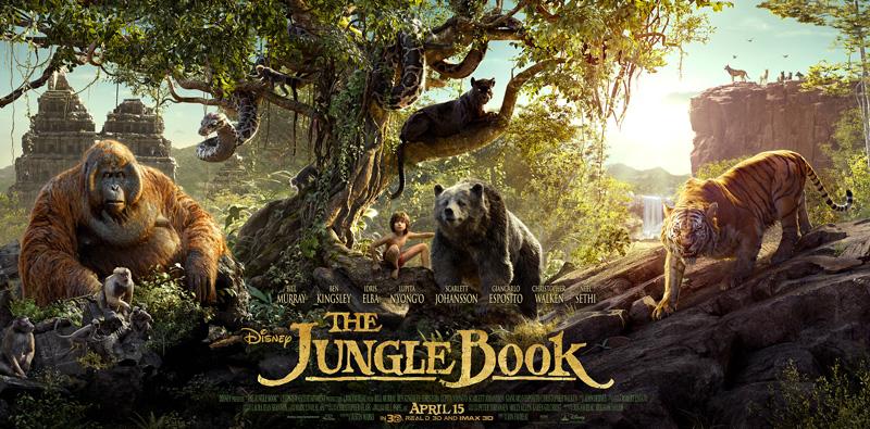 il poster internazionale de il libro della giungla