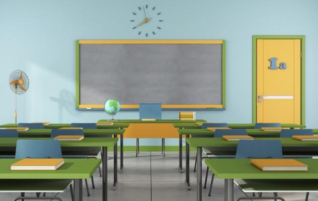 La scuola com'era e com'è (Fonte foto: www.altrimondinews.it)