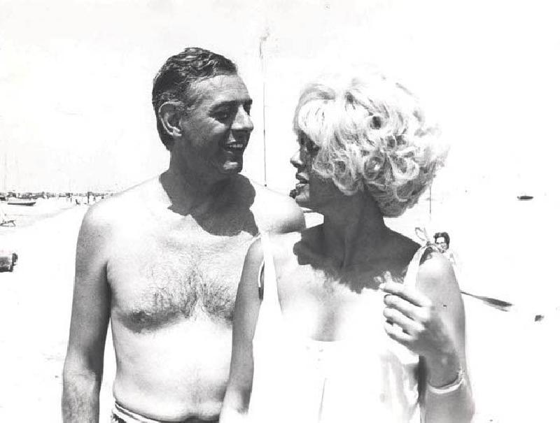 Dario Fo e Franca Rame (fonte foto www.multimedia.quotidano.net)
