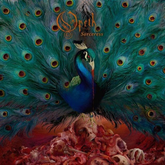 """La copertina di """"Sorceress"""", il nuovo album degli Opeth (metalsucks.net)"""