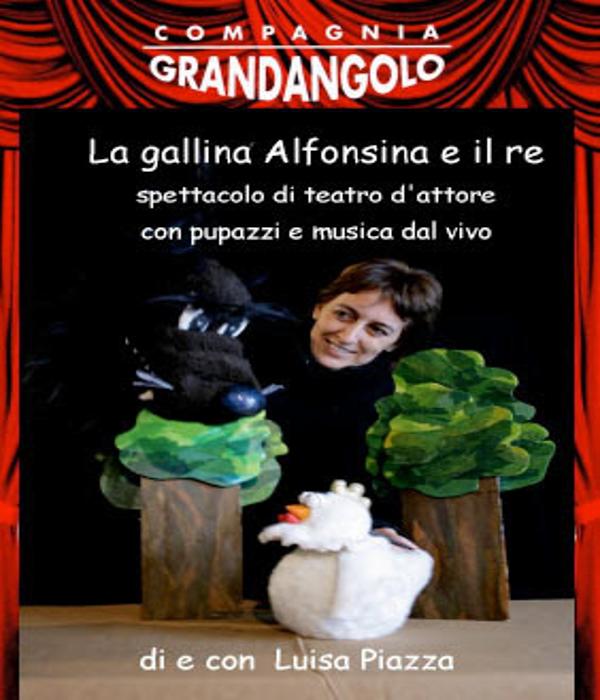 La locandina di La gallina Alfonsina e il re