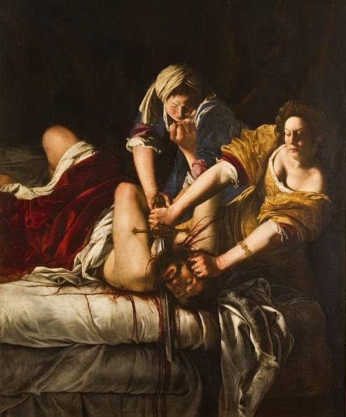 Giuditta che decapitaOloferne 1620-21
