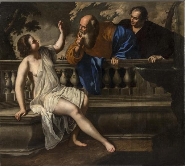 Susanna e i vecchioni 1652