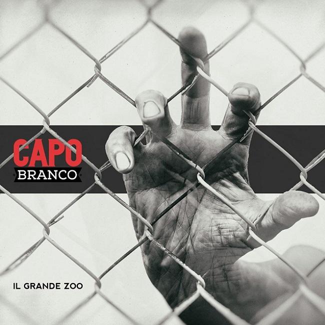 """La copertina di """"Il grande zoo"""", il nuovo album dei Capobranco"""