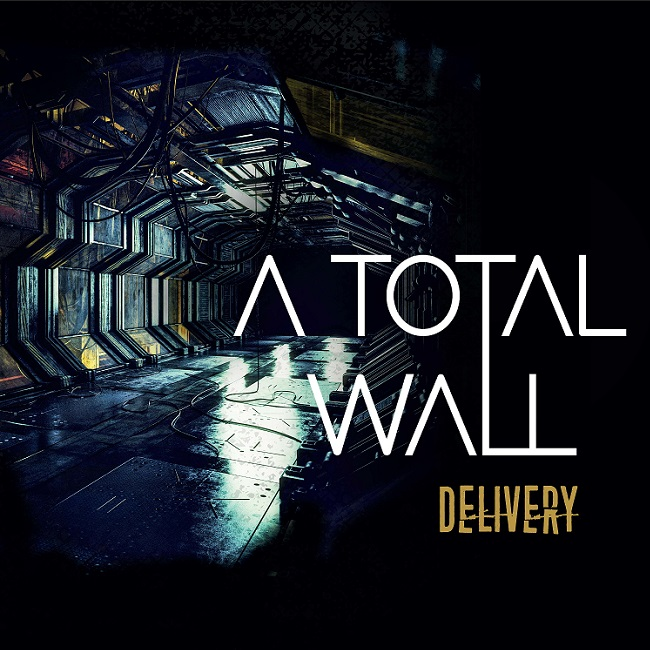 """La copertina di """"Delivery"""", il nuovo album degli A Total Wall"""