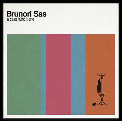 La copertina del'album A casa tutto bene (http://www.brunorisas.it/)