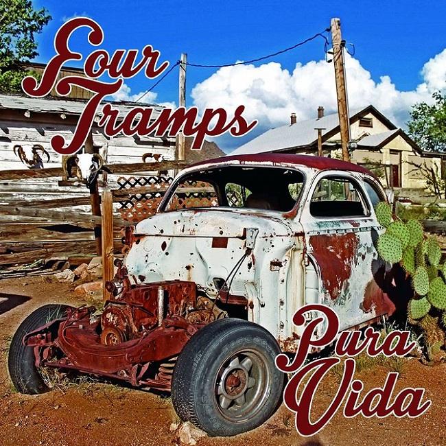 """""""Pura vida"""", il nuovo album dei Four Tramps"""