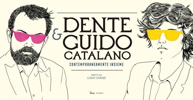 La locandina dello spettacolo Contemporaneamente insieme (source: www.guidocatalano.it)