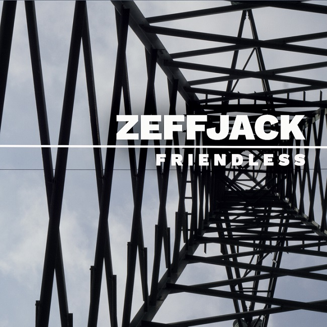 """La copertina di """"Friendless"""", l'album d'esordio degli Zeffjack"""