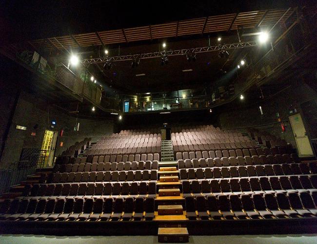L'interno del teatro