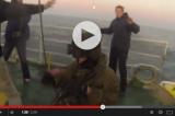 Greenpeace – Il video inedito dell'abbordaggio russo all'Artic Sunrise