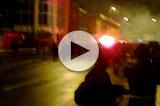 VIDEO – Crisi Milan, la contestazione dei tifosi