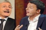 Renzi vs D'Alema: botta e risposta tra le due anime del Pd