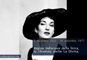 Maria Callas avrebbe compiuto 90 anni. Il doodle dedicato alla Diva