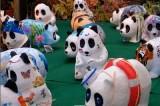 Mini panda di cartapesta: un regalo natalizio che preserva la natura