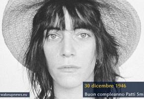 Buon Compleanno Patti Smith, sacerdotessa del rock
