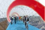 SkyCycle, arriva a Londra la pista ciclabile volante