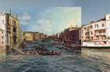 Dipinti d'epoca e foto di Google Street: le opere di Halley Docherty