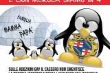 Forza Nuova a Bologna: protesta anti-gay di fronte ai bambini