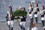 25 aprile, Napolitano parla e Renzi twitta: 'Viva l'Italia libera'